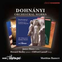 Ernst von Dohnanyi (1877-1960): Orchesterwerke, 5 CDs