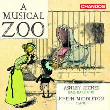 Ashley Riches - A Musical Zoo, CD