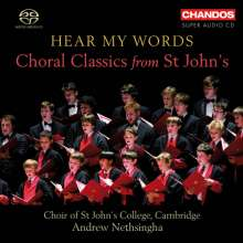 St.John's College Choir Cambridge - Hear my Words, Super Audio CD