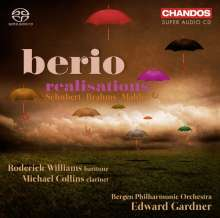 "Luciano Berio (1925-2003): Orchester-Transkriptionen - ""Berio Realisations"", SACD"