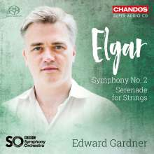Edward Elgar (1857-1934): Symphonie Nr.2, Super Audio CD
