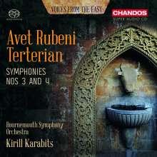 Avet Terterian (1929-1994): Symphonien Nr.3 & 4, Super Audio CD