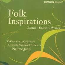 George Enescu (1881-1955): Rumänische Rhapsodien Nr.1 & 2, CD