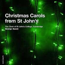 Choir Of St. Johns College Cambridge: Christmas Carols From St Johns, CD