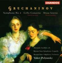Alexander Gretschaninoff (1864-1956): Symphonie Nr.4, CD