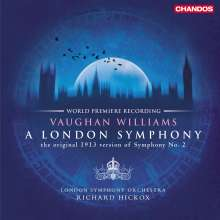 "Ralph Vaughan Williams (1872-1958): Symphonie Nr.2 ""London"", 2 LPs"