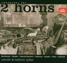 Konzerte für 2 Hörner, 2 CDs