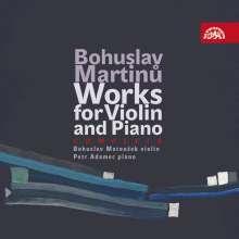 Bohuslav Martinu (1890-1959): Sämtliche Werke für Violine & Klavier, 4 CDs