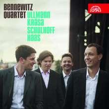 Bennewitz Quartet - Ullmann / Krasa / Schulhoff / Haas, CD