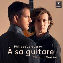 Philippe Jaroussky & Thibaud Garcia - A sa guitare, CD