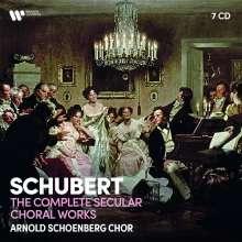Franz Schubert (1797-1828): Das weltliche Chorwerk, 7 CDs