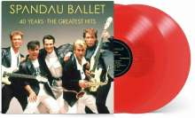 Spandau Ballet: 40 Years: The Greatest Hits (Red Vinyl), 2 LPs