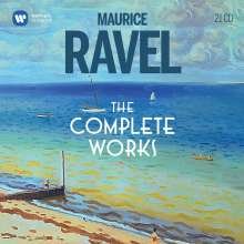 Maurice Ravel (1875-1937): Ravel - The Complete Works, 21 CDs