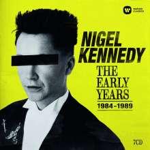 Nigel Kennedy - The Early Years 1984-1989, 7 CDs