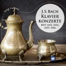 Johann Sebastian Bach (1685-1750): Klavierkonzerte BWV 1052,1053,1055,1056, CD