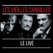 Jacques Dutronc, Johnny Hallyday & Eddy Mitchell: Les Vieilles Canailles: Le Live 2017, 2 CDs