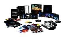 "Pink Floyd: The Later Years 1987 - 2019 (Limited Box Set), 5 CDs, 1 Blu-ray Audio, 5 Blu-ray Discs, 5 DVDs, 2 Singles 7"" und 1 Buch"