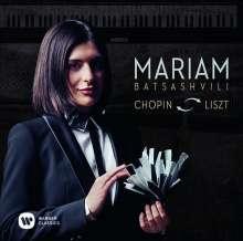 Mariam Batsashvili - Chopin & Liszt, CD
