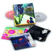 Edvard Grieg (1843-1907): Orchesterwerke, Kammermusik, Klaviermusik, Lieder, 13 CDs