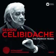 Sergiu Celibidache - The Munich Years, 49 CDs