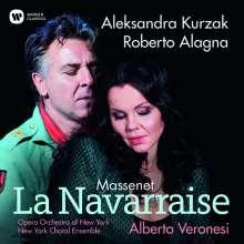Jules Massenet (1842-1912): La Navarraise, CD