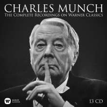 Charles Munch - The Complete Recordings on Warner Classics, 13 CDs