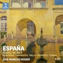 Jean-Francois Heisser - Espana, 6 CDs