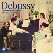 Claude Debussy (1862-1918): Debussy - Ses Premiers Interpretes (His First Performers), 10 CDs