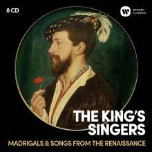 The King's Singers - Madrigals & Songs from the Renaissance, 8 CDs