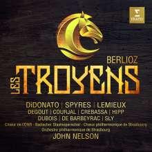 Hector Berlioz (1803-1869): Les Troyens (ungekürzte Originalfassung), 5 CDs