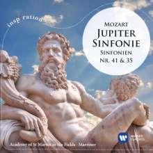 Wolfgang Amadeus Mozart (1756-1791): Symphonien Nr.35 & 41, CD