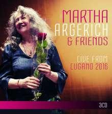 Martha Argerich & Friends - Live from Lugano Festival 2016, 3 CDs