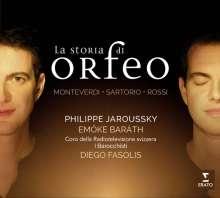 Philippe Jaroussky - La Storia di Orfeo, CD