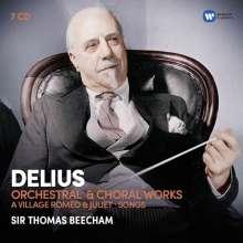 Frederick Delius (1862-1934): Orchester- & Chorwerke, 7 CDs