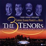 Carreras,Domingo,Pavarotti: The Three Tenors in Concert 1994 (180g), 3 LPs