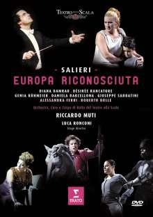 Antonio Salieri (1750-1825): Europa riconosciuta, DVD