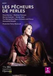 Georges Bizet (1838-1875): Les Pecheurs de Perles, DVD