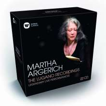 Martha Argerich  The Lugano Recordings 2002-2016, 22 CDs
