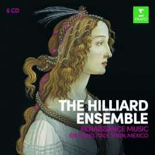 Hilliard Ensemble - Renaissance Music, 6 CDs