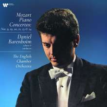 Wolfgang Amadeus Mozart (1756-1791): Klavierkonzerte Nr. 9, 19-21, 23 & 24 (180g), 4 LPs