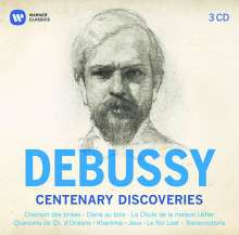 Claude Debussy (1862-1918): Debussy-Centenary Discoveries, 3 CDs