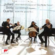 Juilliard Quartet - Beethoven / Bartok / Davidovsky, CD