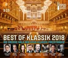 Best of Klassik 2018 - Die Opus Klassik Preisträger, 3 CDs
