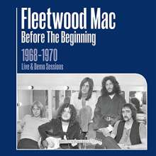 """Fleetwood Mac: Before The Beginning: 1968 - 1970 Live & Demo Sessions (7"""" Format), 3 CDs"""