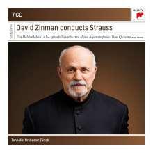 Richard Strauss (1864-1949): David Zinman dirigiert die Orchesterwerke von Richard Strauss (Sony Classical Recordings), 7 CDs