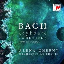 Johann Sebastian Bach (1685-1750): Klavierkonzerte BWV 1052-1059, 2 CDs