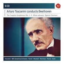 Ludwig van Beethoven (1770-1827): Symphonien Nr.1-9, 6 CDs