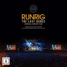 Runrig: The Last Dance - Farewell Concert Film (Limited Edition) (Collector's Box), 3 CDs, 2 DVDs und 1 Buch