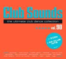 Club Sounds Vol. 90, 3 CDs