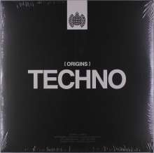 Ministry Of Sound: Origins Of Techno, 2 LPs